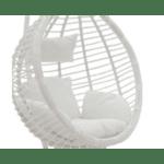 Градинска люлка Nadim бял цвят