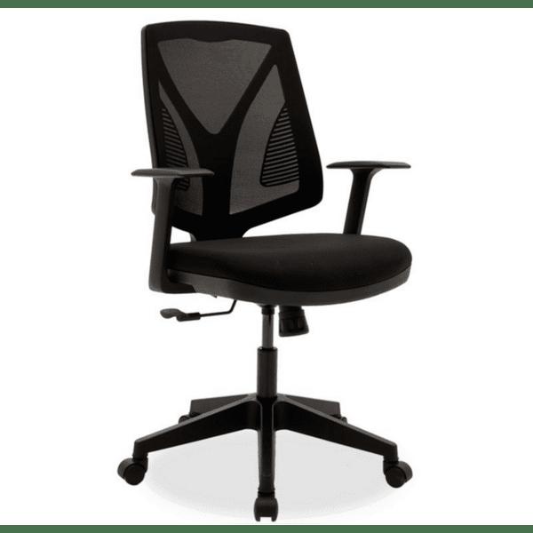 Офис стол Mabella черен цвят