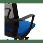 Офис стол Cage черен-син цвят
