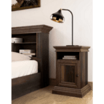 Нощно шкафче Mozart цвят орех 40x40x61cm