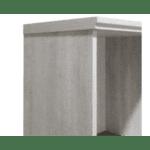 Шкаф  Bonito венге-бял 80.5x30x179cm