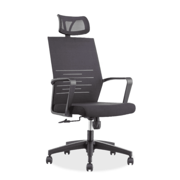 Офис стол Eda черен цвят