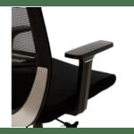 Офис стол Laken черен