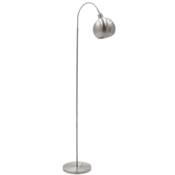 Метална подова лампа хром 25x60x142см