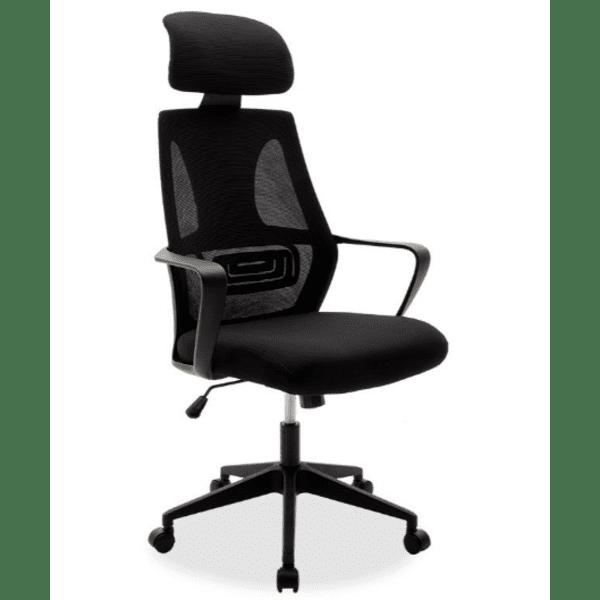 Офис стол Dolphin черен цвят