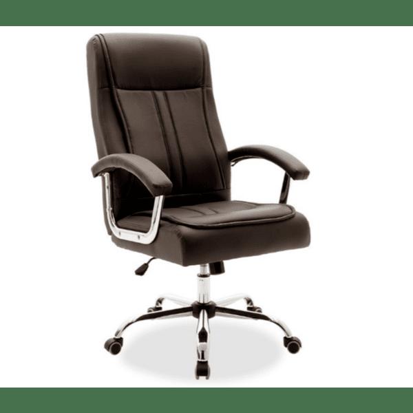 Мениджърски офис стол Legent кафяв цвят