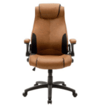 Офис стол Bear кафяв-черен цвят