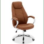 Офис стол Sonar кафяв цвят