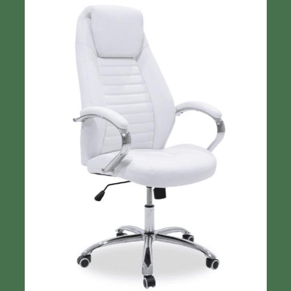 Офис стол Sonar бял цвят