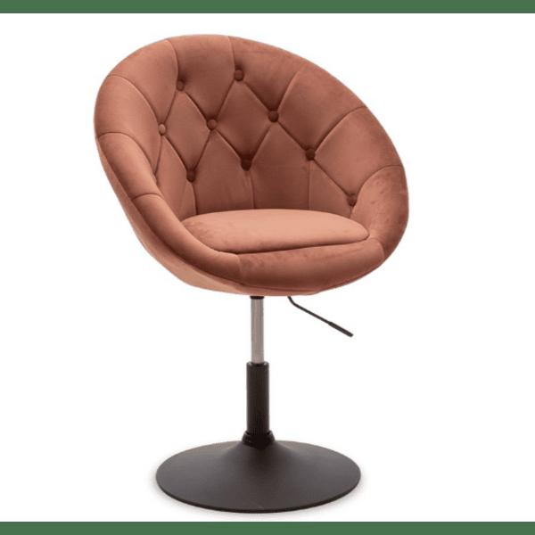 Кресло Ivy цвят пепел от рози