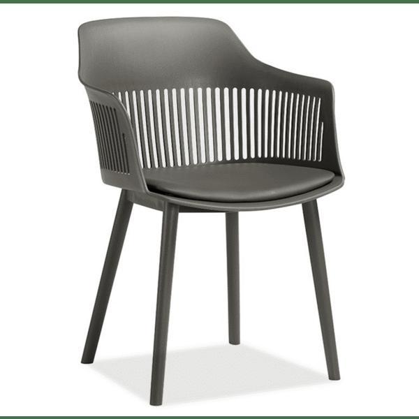 Кресло Aleks сив цвят