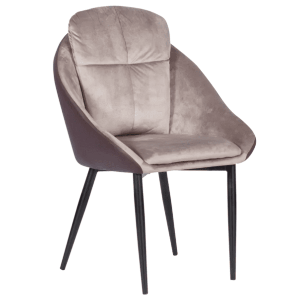 Трапезен стол VOLSK - тъмнобежов TJ
