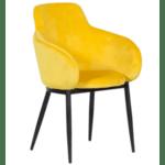 Трапезен стол TARA - жълт TJ