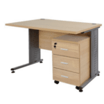Комплект за офис бюро +шкаф цвят