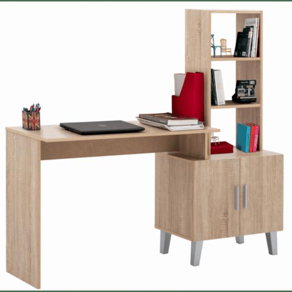 Офис бюро CHERISH  цвят сонома 150x45x137,5 см