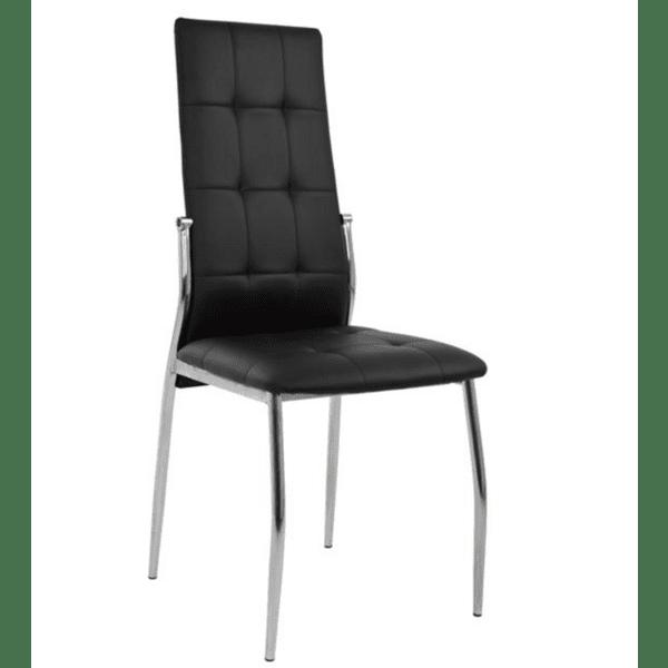 Трапезен стол PILAR черен цвят