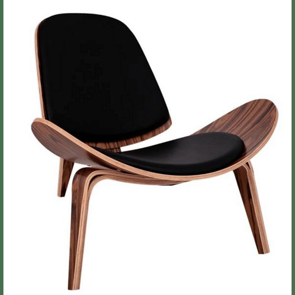 Кресло Супериор Плюс-череша с черна еко кожа
