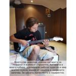 Eлектрическа китара Hobax FST-120 BK Pack +4 аксесоара - 15W усилвател, калъф, кабел и 3 перца. ПОДАРЪК онлайн уроци на стойност 100 лв.