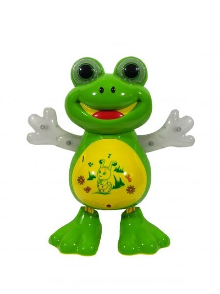 Танцуваща жаба- играчка на български език