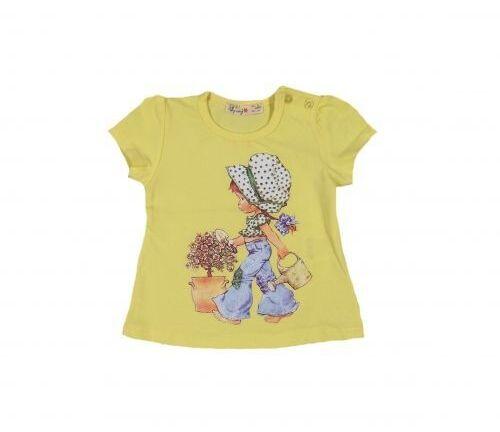 Блуза за момиче с къс ръкав
