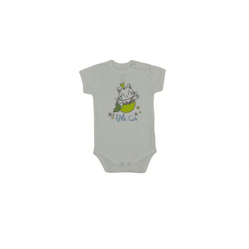 Бебешко боди с къс ръкав