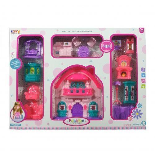 Къща с обзавеждане за кукли