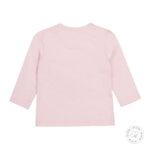 Блуза с дълъг ръкав за момиче от органичен памук-Copy