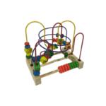 Дървена играчка- лабиринт
