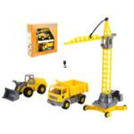 Комплект - кран, трактор и камион