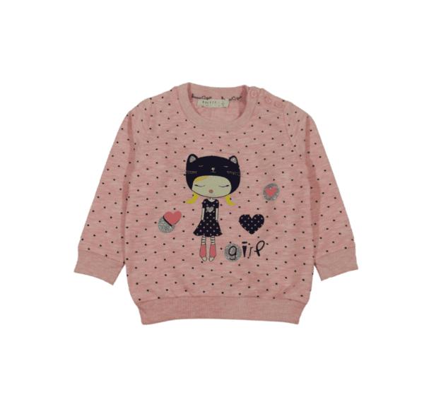 Блуза за момиче /лека вата/