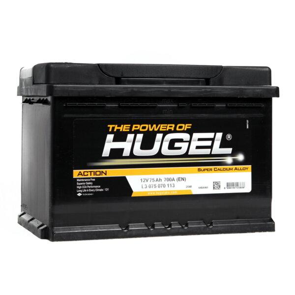 HUGEL 75Ah 700A