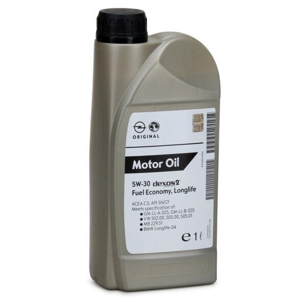 GM OPEL Dexos 2 5W30 1L