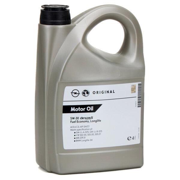 GM OPEL Dexos 2 5W30 4L
