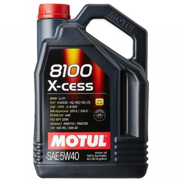 MOTUL 8100 X-CESS 5W40 4L