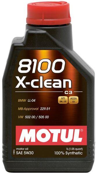MOTUL 8100 X-CLEAN 5W30 1L