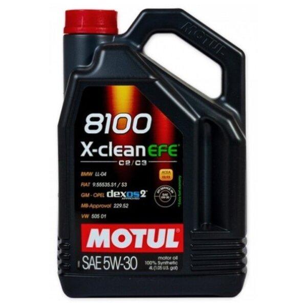 MOTUL 8100 X-CLEAN EFE 5W30 4L
