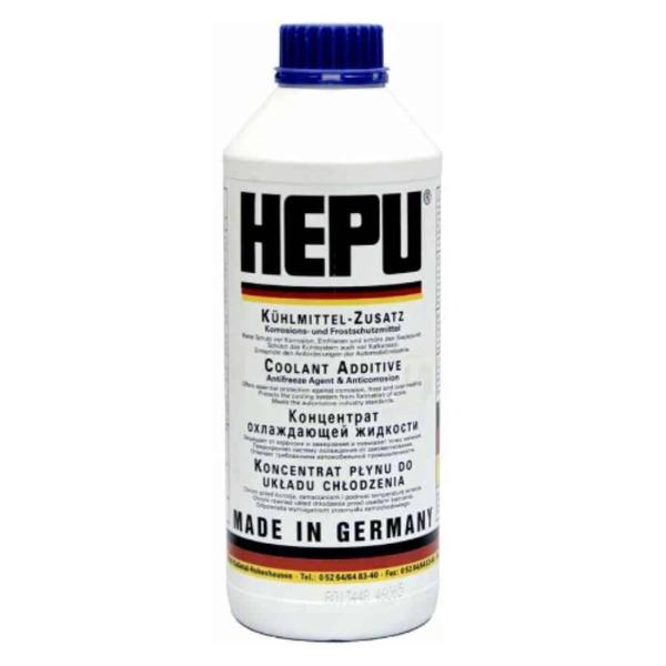 HEPU P999 Антифриз син 1L