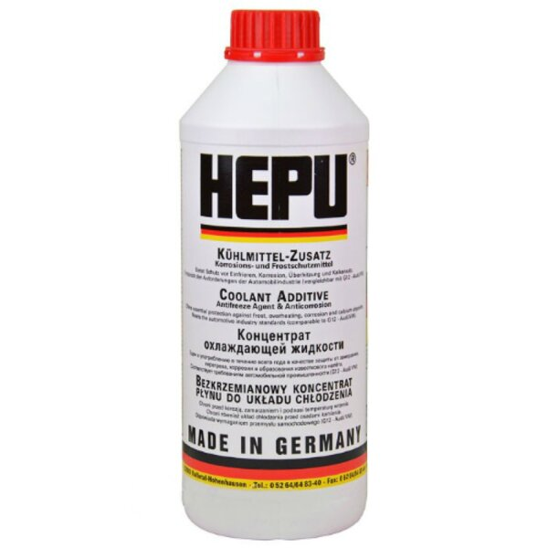 HEPU P999 Антифриз червен 1L