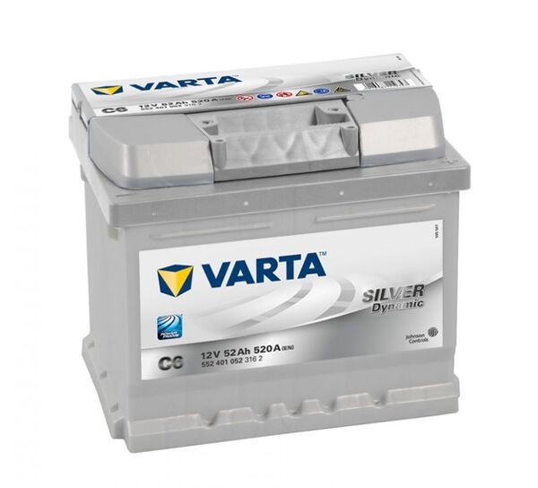VARTA SILVER DYNAMIC C6 52Ah 520A