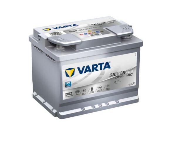 VARTA SILVER DYNAMIC AGM D52 60Ah 680A