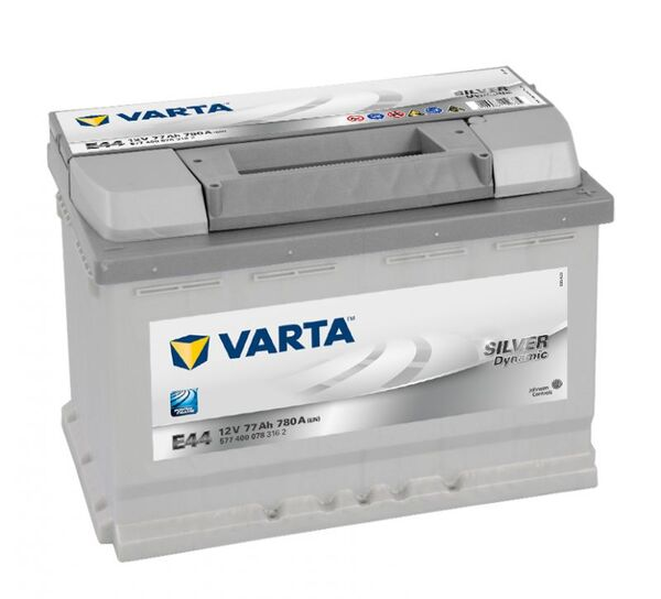 VARTA SILVER DYNAMIC E44 77Ah 780A