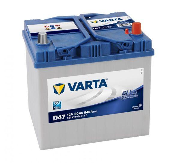 VARTA BLUE DYNAMIC ASIA D47 60Ah 540A