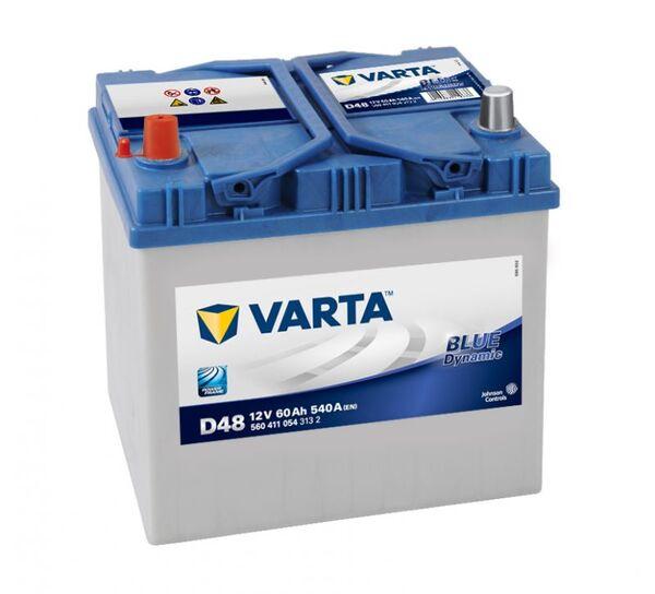 VARTA BLUE DYNAMIC ASIA D48 60Ah 540A