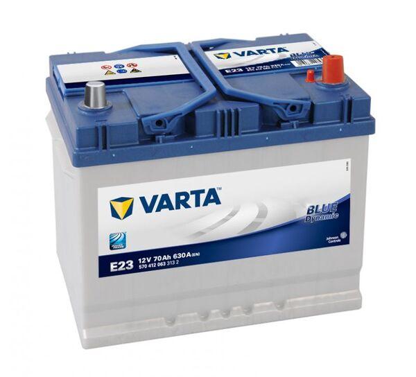 VARTA BLUE DYNAMIC ASIA E23 70Ah 630A