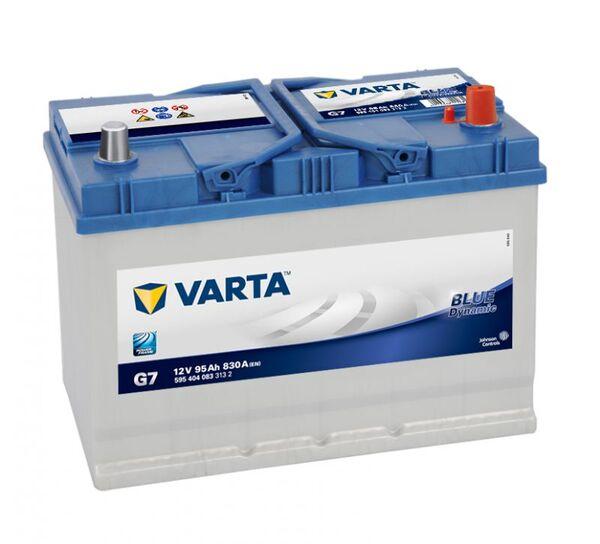 VARTA BLUE DYNAMIC ASIA G7 95Ah 830A
