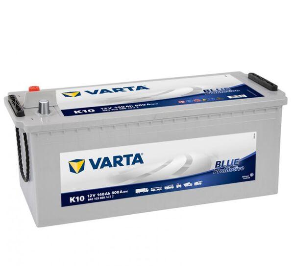 VARTA PROMOTIVE BLUE K10 140Ah 800A