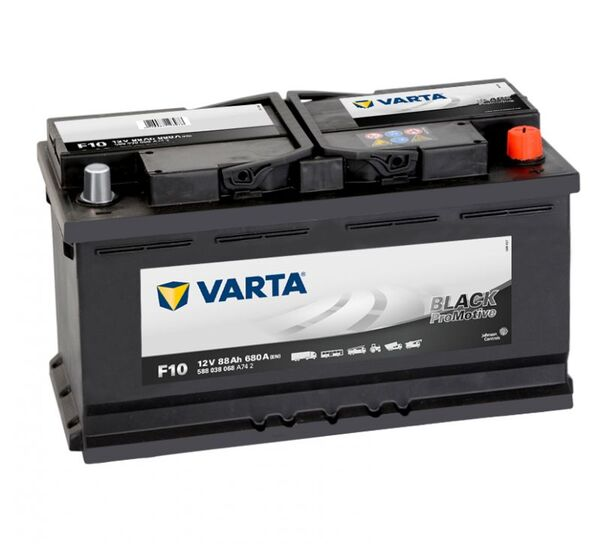 VARTA PROMOTIVE BLACK F10 88Ah 680A