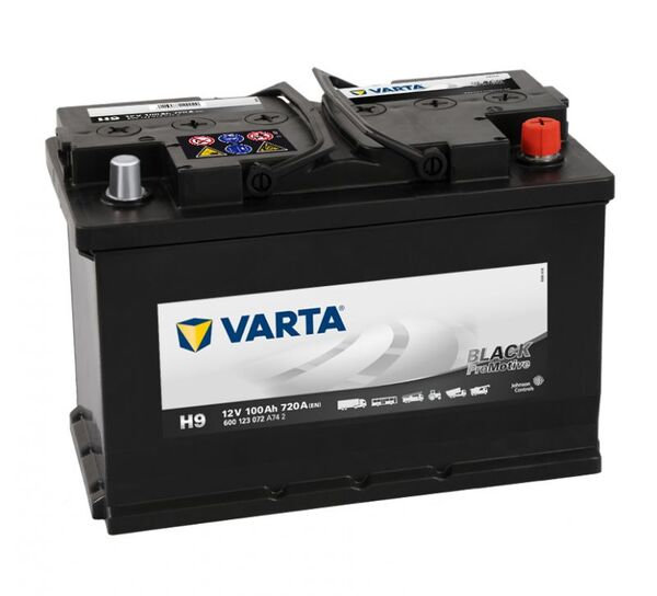 VARTA PROMOTIVE BLACK H9 100Ah 720A