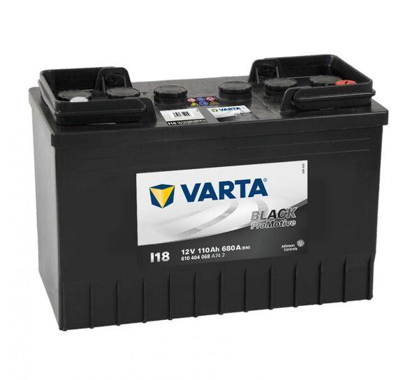 VARTA PROMOTIVE BLACK I18 110Ah 680A