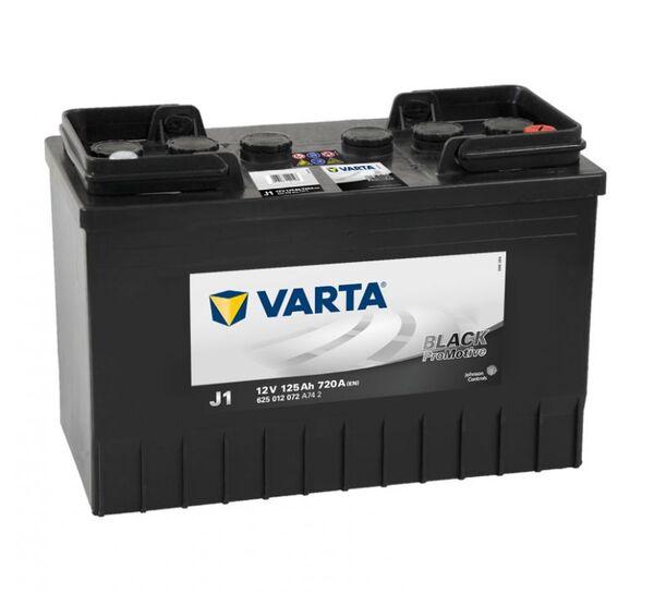 VARTA PROMOTIVE BLACK J1 125Ah 720A